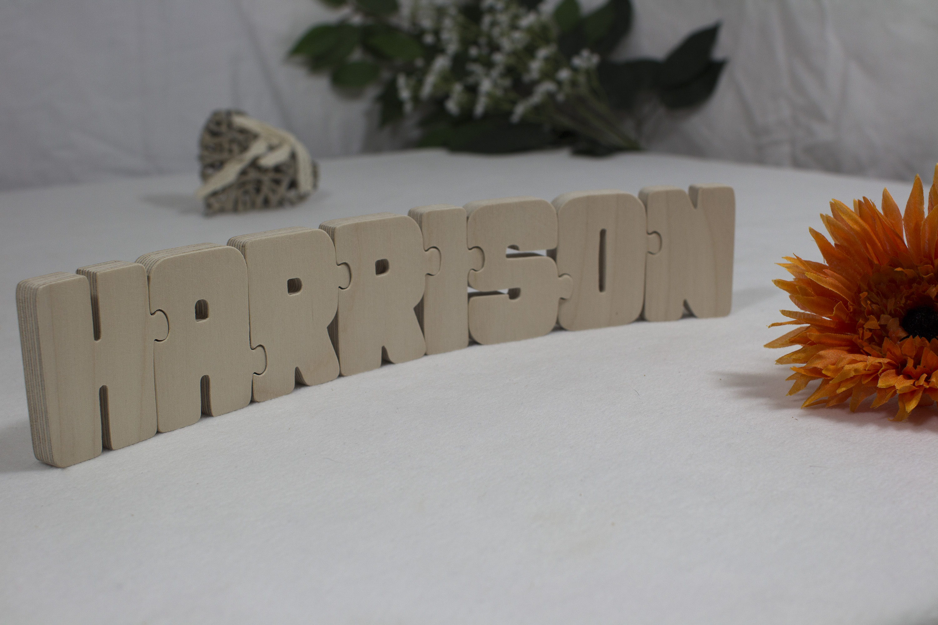 wooden jigsaw name